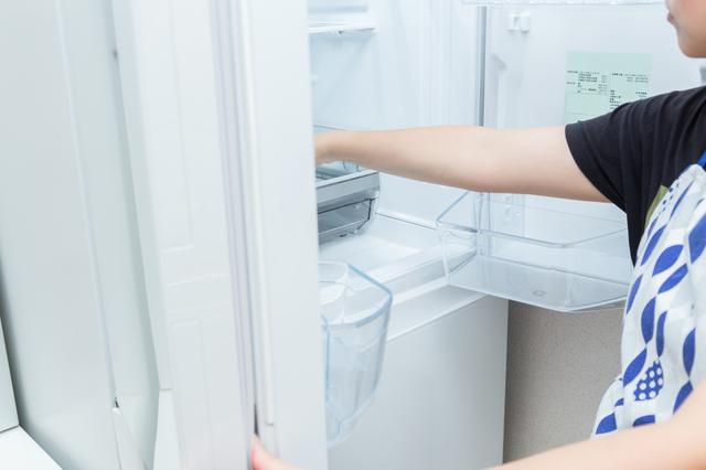 冷蔵庫で解凍